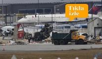 video Uçak düştü 5 kişi hayatını kaybetti!