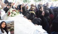 Uçak kazasında ölen Songül Bozkurt'un cenazesi