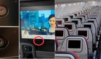 Uçak koltuk kameralarından yolcular mı izleniyor?