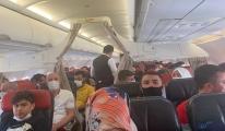 #Uçak, teknik arazı nedeniyle geri döndü