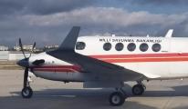 Uçakla, deprem bölgesinde hasar tespiti yapıldı