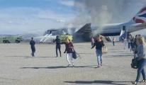 Uçakta Duman Çıktı, Kabin Memurları Şoka Girdi