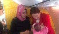 Uçakta Meral Akşener için sürpriz anons!