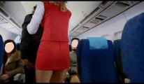 Uçakta taciz mi var!