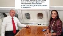 Uçaktaki pozunu paylaştı gelen yorumlar şaşırttı!