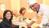 'Uçan Aşçı' THY'nin Avrupa Uçuşlarında