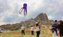 Uçhisar'da Uçurtma Şenliği