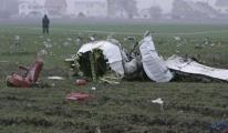Ukrayna'da eğitim uçağı düştü: 2 ölü
