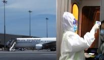 Ukrayna'da havaalanında korona virüsü taraması başlatıldı!