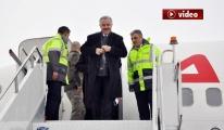 Ulaştırma Bakanı Ahmet Arslan, Kars'ta video