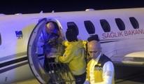 Umre'den Uçak Ambulansla Getirildi