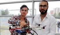 Üniversitelilerden 3D yazıcı ile 'yerli drone'
