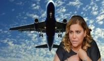 Ünlü şarkıcı uçakta fenalaştı!