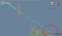 Uyuyan pilot 78 kilometre fazla uçtu!