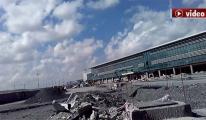 video 3. Havalimanı'nda oluşan çukurlar!