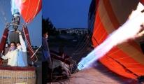 video Balonlar, pilot adayları için havalandı