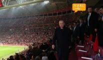 video Başkan  Erdoğan, Türkiye-İzlanda maçını izledi!