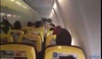 video Boeing 737-800 tipi uçağın kabini dumanla kaplandı!