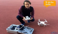 video Drone pilotluğuna her meslekten ilgi
