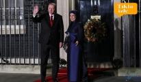 video Erdoğan eşi Emine Erdoğan akşam yemeğine katıldı