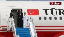 video Erdoğan ile eşi Emine Erdoğan,Güney Afrika'gitti!