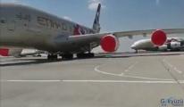 video Etihad Havayolları,tüm uçuşlarını askıya aldı
