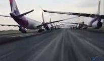 video Etkileyici! Hawaiian Airlines uçakları stokladı.
