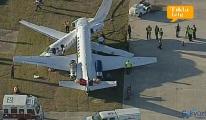 video Havalimanında ilginç kaza!
