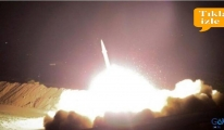 video İran, ABD'nin Irak'taki üslerini vurdu! İlk görüntü!