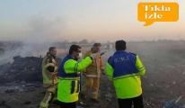 video İran'da yolcu uçağı düştü!