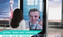 video İstanbul Havalimanı'nda dijital