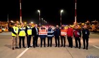 video İstanbul Havalimanı'nda kış tatbikatı!
