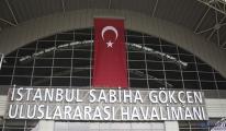 video Sabiha Gökçen Türk bayrakları ile donatıldı