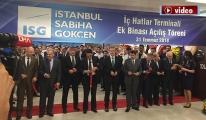 video Sabiha Gökçen yeni terminaline kavuştu!