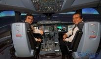 video THY'nin A350'lerden önce simülatörleri geldi!