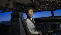 video THY'nin en genç kaptan pilotu Selin Sevimli