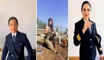 video THY'nin kadın pilotları da o akıma uydu
