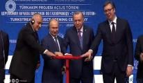 video TürkAkım'da vanalar açıldı!