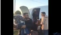 video Yolu uçağı otoyola gövde üstü indi!