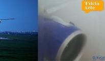 video Uçak pistten çıktı!
