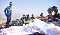 video#12'nci Ali Dağı Yamaç Paraşütü Yarışması başladı