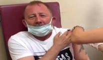 video#Sergen Yalçın aşı oldu