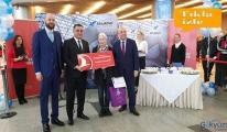 Vnukova Havalimanı'nda 23 milyonuncu yolcu THY ile uçtu