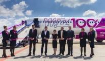 Wizz Air, 100. uçağını teslim aldı