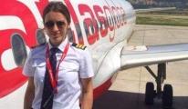 Yağmur Sarıoğlu pilotluk eğitimini tamamladı.