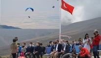 Yamaç Paraşütü Mesafe Türkiye Şampiyonası başladı#video