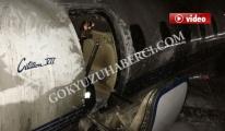 Yanan Jetin Mürettabat İsimleri,pilot ile kule konuşması