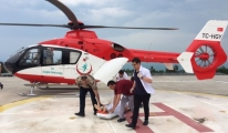 Yaralanan Asker Ambulans Helikopter İle Sevk Edildi