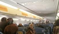 Yaşlı kadın yolcu Pegasus uçağında öldü!