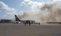 (video)Yemen'de Aden Havalimanı'nda patlama: En az 5 ölü